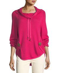 Neon Buddha - Rivington Cowl-neck Sweater - Lyst