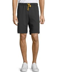 Ovadia And Sons - Men's Contrast-trim Track Shorts - Lyst