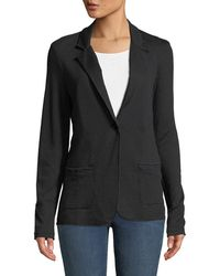 Neiman Marcus - Cashmere Double-face One-button Jacket - Lyst
