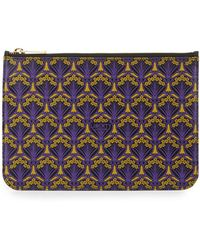 Liberty - Iphis-print Zip-top Pouch Bag - Lyst