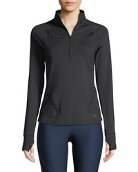 Under Armour - Breathelux Cutout Performance Top - Lyst