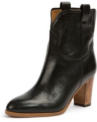 Frye - June Antiqued Short Ankle Boot - Lyst