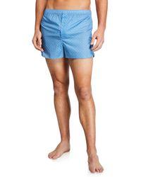 Derek Rose - Men's Ledbury Modern-fit Boxer Shorts - Lyst