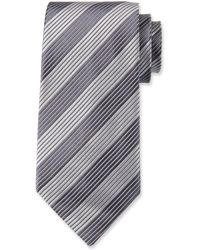 Tom Ford - Contrast-stripe Silk Tie - Lyst