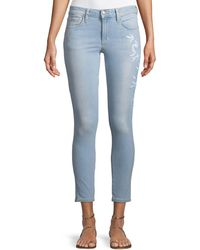 Joe's Jeans - Icon Mid-rise Skinny Cropped Jeans - Lyst