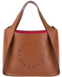 Stella McCartney - Alter Napa Logo Crossbody Bag - Lyst