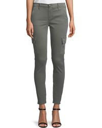 FRAME - Le Service Skinny Cargo Pants - Lyst
