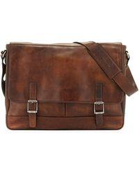 Frye | Oliver Men's Leather Messenger Bag | Lyst