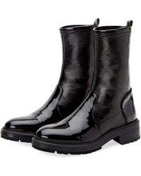Aquatalia - Leoda Weatherproof Patent Ankle Boots - Lyst