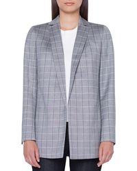Akris - Alan No Close Cool Wool Jacket - Lyst