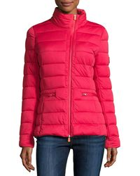 Save The Duck - Asymmetric-zip Puffer Jacket - Lyst
