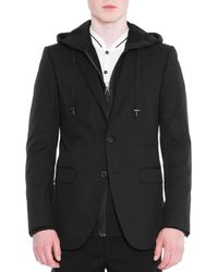 Lanvin - Attitude Two-button Soft Jacket - Lyst