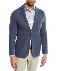 Peter Millar - Crown Cashmere Knit Two-button Blazer - Lyst