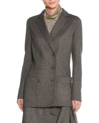 Tomas Maier - Felted Wool Double-breasted Blazer - Lyst