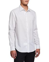 Emporio Armani - Men's Fancy Pattern Sport Shirt - Lyst