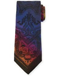 Etro - Tom Piazzata 8cm Silk Tie - Lyst