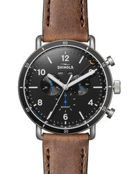 Shinola - Men's Limited Edition 47mm Canfield Sport Watch - Lyst