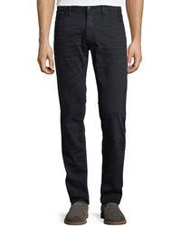 Ralph Lauren | 5-pocket Slim-leg Washed-denim Jeans | Lyst