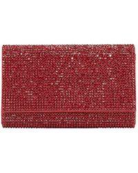 Judith Leiber Crystal-embellished Crossbody Bag - Red