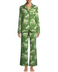 La Costa Del Algodón - Berenice Two-piece Classic Pajama Set - Lyst