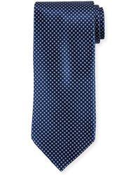 Stefano Ricci - Neat Pattern Silk Tie - Lyst
