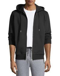 Theory - Men's Cure Fleece Essential Zip-front Hoodie - Lyst
