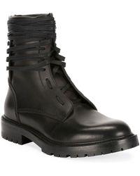 Amiri Combat Boot - Black