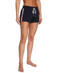 Pj Salvage Black Out Side-stripe Shorts - Grey