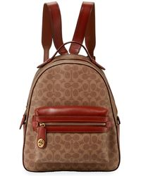 COACH - Campus Signature Coated Canvas Backpack - Lyst