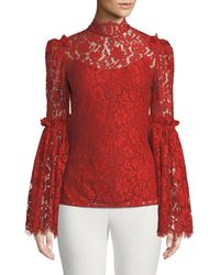 Camilla & Marc - Clemence Scalloped Lace Top - Lyst
