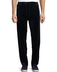 Giorgio Armani - Men's Jersey Velvet Lounge Pants - Lyst