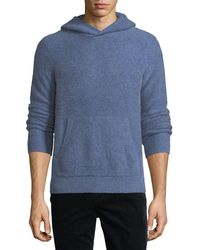 Vince | Boiled Cashmere Pullover Hoodie | Lyst