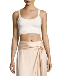Elizabeth and James - Chandler Cutout Bralette Top - Lyst
