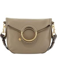 e8b329207b Lyst - See By Chloé Monroe Leather Crossbody Bag in Black