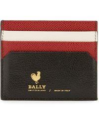 Bally - Nalbyn Colorblock Leather Card Case - Lyst