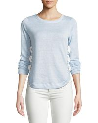 Lisa Todd | Explorer Lace-up Linen Sweater | Lyst