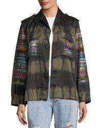 Libertine - Friday Nights Tie-dye Army Jacket - Lyst