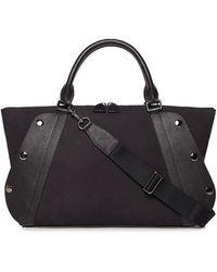 Akris - Aimee Small Nubuck Leather Satchel Bag - Lyst