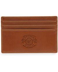 Ghurka - Slim Leather Credit Card Case No. 204 - Lyst