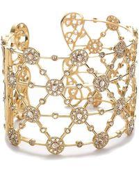 Coomi Eternity 20k Diamond Opera Cuff Bracelet - Yellow