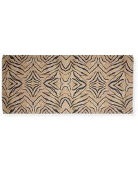 Lily and Lionel - Tiger-print Fringe Scarf - Lyst