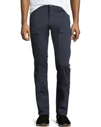 PAIGE - Dylan Twill Cargo Pants - Lyst