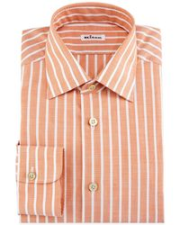 Kiton - Bold-stripe Dress Shirt - Lyst