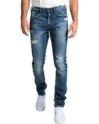 62a5a3f1907 PRPS - Men s Windsor Fit Stretch Denim Jeans With Rip repair - Lyst