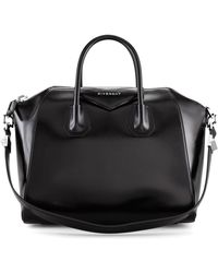 Lyst - Givenchy Antigona Small Studded Satchel Bag in Black 0797a3f2aa819