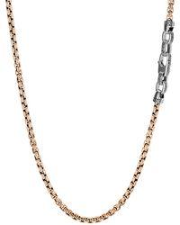 John Hardy - Men's Classic Chain Necklace 4mm Bronze - Lyst