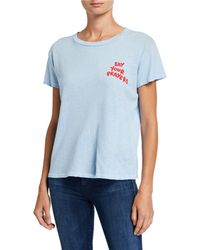 Mother The Sinful Graphic Tee - Blue