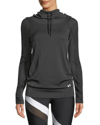 Under Armour - Seamless Layer Hoodie - Lyst