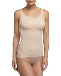 Tc Fine Intimates Just Enough Seamless Camisole - Natural