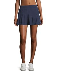 Tory Sport - Pleated Jersey Skirt - Lyst